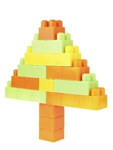 Brick Triangle Tree Royalty Free Stock Photography