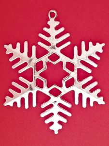 Free Six Pointed Snowflake Stock Images - 35854064