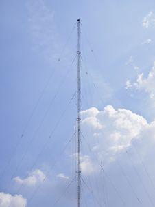Free Pole On Cloudy Stock Photo - 35854100