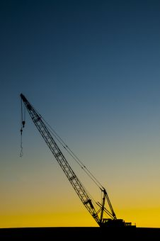 Free Construction Crane Stock Photography - 35855192