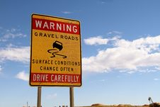 Free Outback Road Stock Photography - 35856132