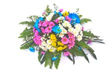 Free Beautiful Bouquet Of Bright Flowers Stock Photography - 35857232