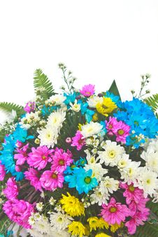 Free Beautiful Bouquet Of Bright Flowers Stock Photo - 35857620