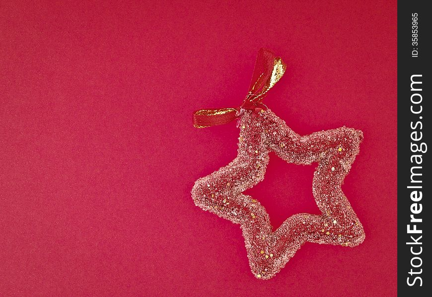Decorate red star