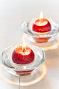 Free Red Candles Royalty Free Stock Photos - 35863978