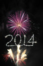 Free 2014 Sparklers Royalty Free Stock Photos - 35865388