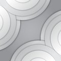 Free Abstract Grey Paper Circles Vector Background Stock Photo - 35868100