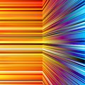 Free Abstract Warped Orange And Blue Stripes Royalty Free Stock Photo - 35868205