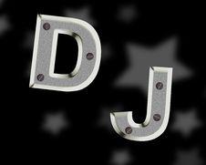 Free DJ Logo Stock Images - 35863484