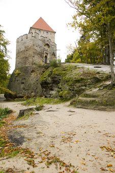 Free Castle Kokorin Royalty Free Stock Photos - 35863748