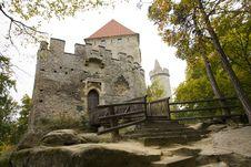 Castle Kokorin Royalty Free Stock Photos