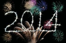 2014 Sparklers Stock Images