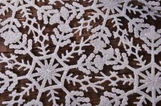Free New Year`s Background Of Snowflakes Stock Photography - 35864872