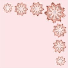 Free Romantic Vintage Lace Ornament Paper Texture Royalty Free Stock Photography - 35865417