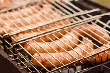 Free Barbecued Pork Sausages Stock Photo - 35869010