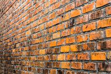 Free Bricked Wall Background Stock Photos - 35869793