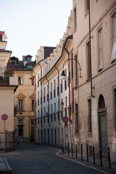 Free Turin Streets At Morning Stock Photos - 35870033
