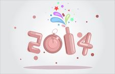 Free New Year 2014 Stock Images - 35870374