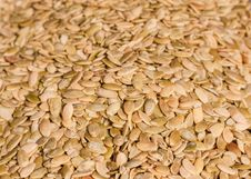 Free Close Up Of The Pumpkin Seeds Background Royalty Free Stock Photo - 35872665