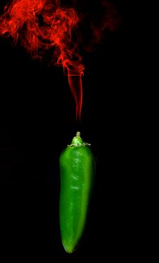 Free Smoking Pepper Royalty Free Stock Photo - 35879305