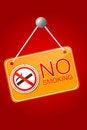 Free Shiny No Smoking Sign Stock Photos - 35883473