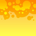 Free Abstract Orange And Yellow Round Bubbles Royalty Free Stock Image - 35888756
