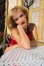 Free Model In Villa Royalty Free Stock Image - 35889586