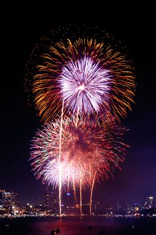 Free Fireworks International Fastival Stock Images - 35882724