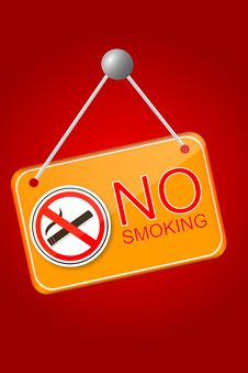 Free Shiny No Smoking Sign Stock Photos - 35883473