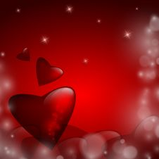 Free Valentine S Day Vector Background Royalty Free Stock Image - 35887246