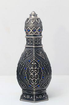 Free Arabian Oud Bottle Stock Image - 35888541
