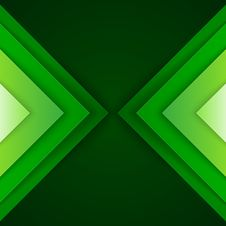 Free Abstract Green Triangle Shapes Background Stock Photos - 35888823