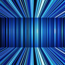 Free Abstract Blue Warped Stripes Background Royalty Free Stock Photo - 35888965