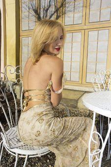 Free Model In Villa Stock Image - 35891721