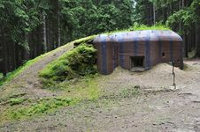 Free Historical Bunker Royalty Free Stock Photo - 35892525