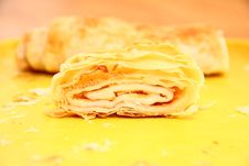 Free Strudel Royalty Free Stock Photography - 35893027