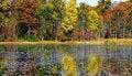 Free Beautiful Autumn Lake Stock Photos - 3596673