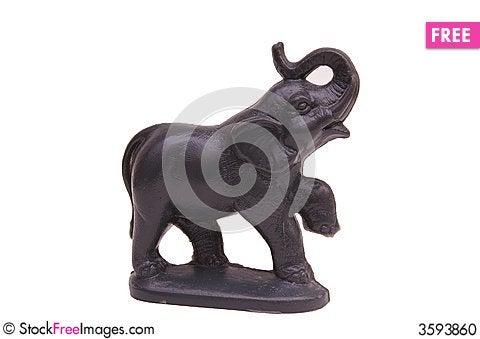 Free Elephant Wax Mold Stock Photo - 3593860