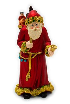 Free Santa Claus With Bell And Sack Royalty Free Stock Image - 3590416