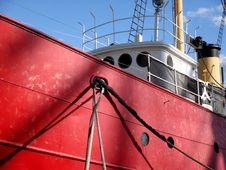Free Red Tugboat Stock Images - 3590754