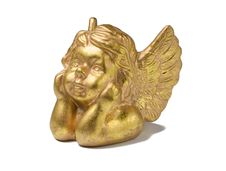 Free Golden Cherub Christmas Deco Royalty Free Stock Image - 3590826