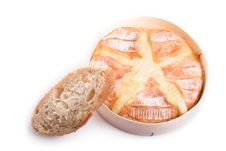 Free Backed Camembert With Baguette Royalty Free Stock Photo - 3591405