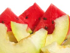Free Watermelon And Muskmelon Stock Images - 3591674