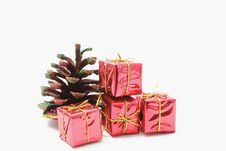 Free Gifts And Cone Royalty Free Stock Photo - 3591745