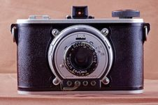Free Old Vintage Camera Stock Photography - 3592002