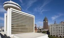 Downtown Milwaukee, Wisconsin. Stock Images