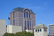Downtown Milwaukee, Wisconsin. Stock Image