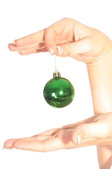 Free Ornament In Hand Royalty Free Stock Images - 3592619
