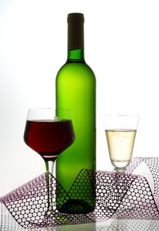 Free Red And White Wine Stock Photo - 3593050