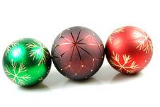 Free Christmas Balls Stock Image - 3593391